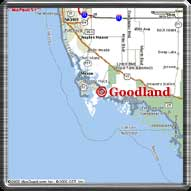 Goodland is South of Naples